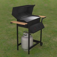 Propane Grill with tank and regulator