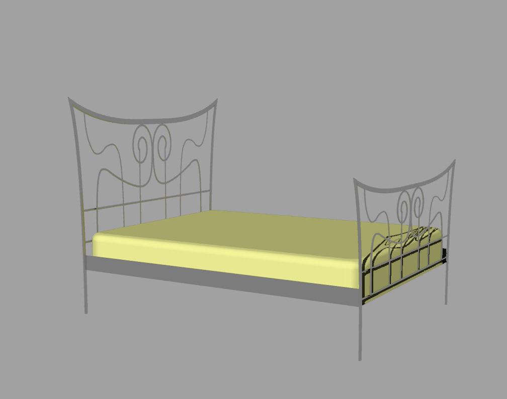 3d 3dm king bed