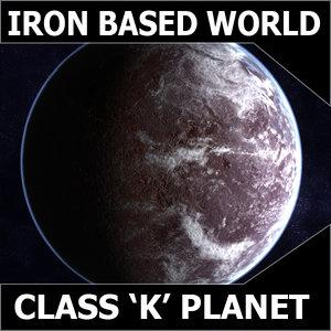 3d alien planet earth