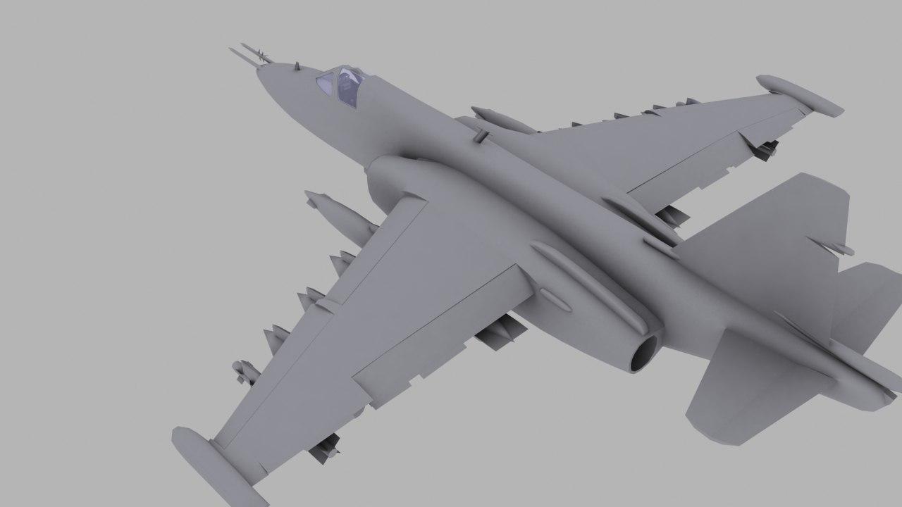 obj su-25 soviet ground