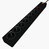 3dsmax connector power strip -