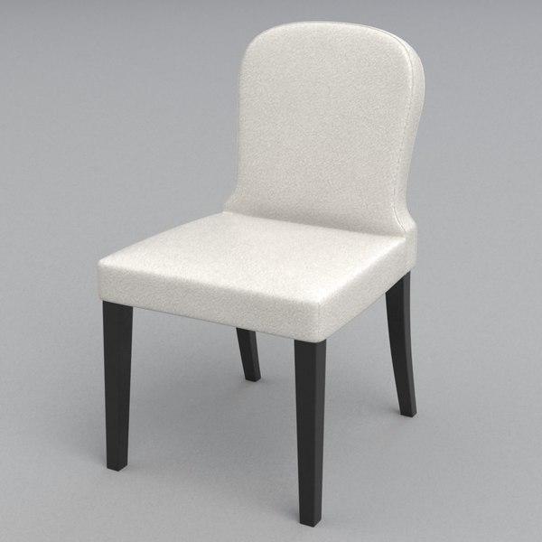 3d model lauren chair casamilano