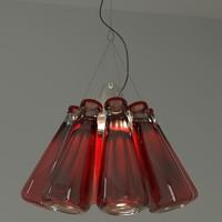 campari lamp 3d model
