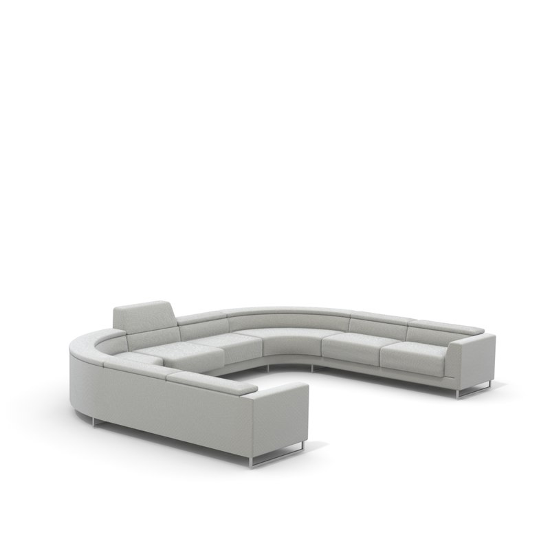 model u shaped sofa