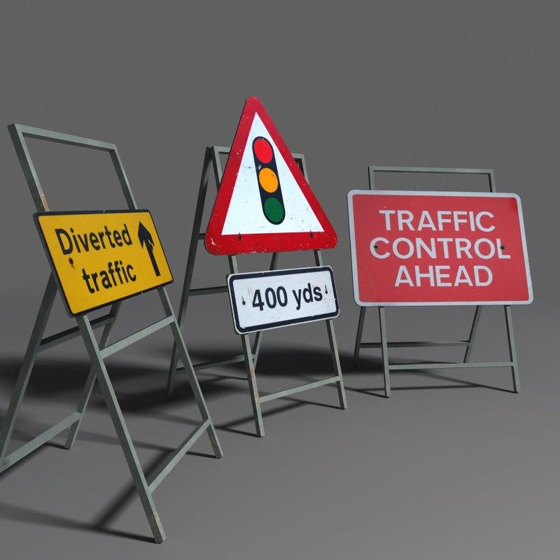 road signs coz110120798 3d ma