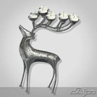 Candlestick Deer