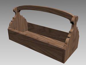garden toolbox wood max