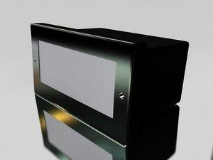 d3 c2 17 lamp: 3d max