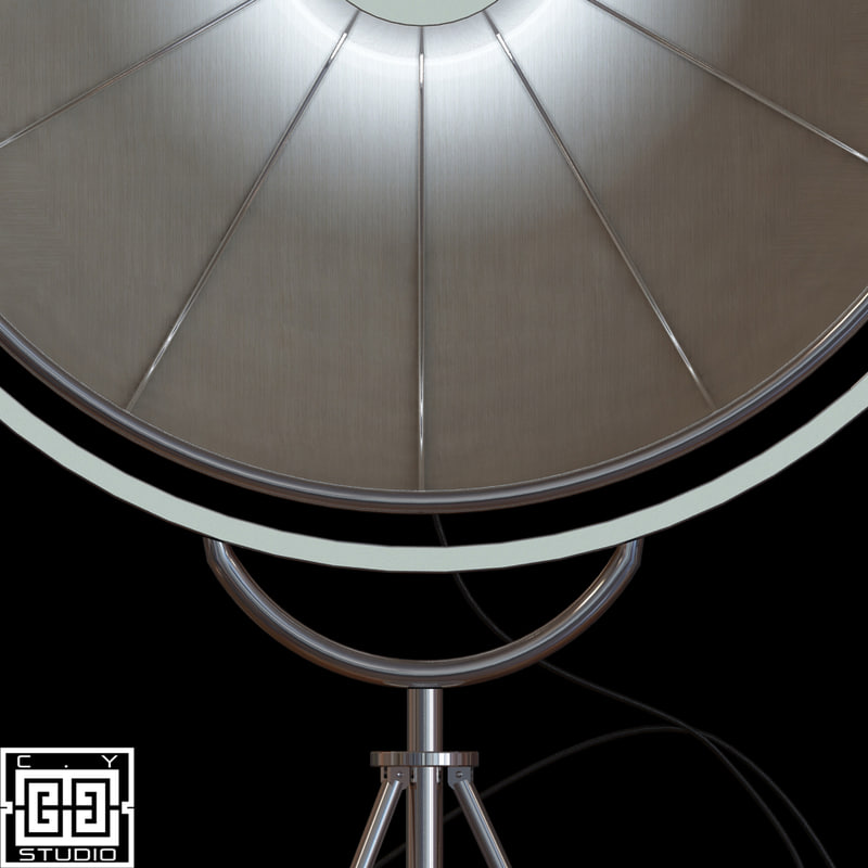 fortuny lamp 3d model