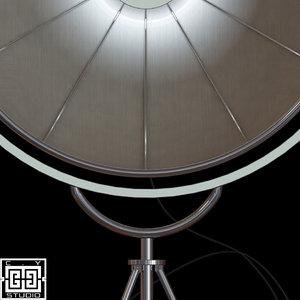fortuny lamp 3d model