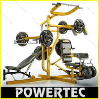 Powertec WB-MS10 workbench multi system