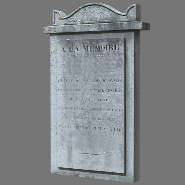 tombstone dug 3d 3ds