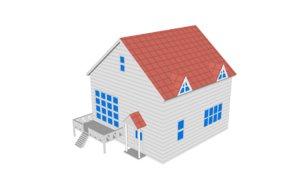 free version ash s house 3d model