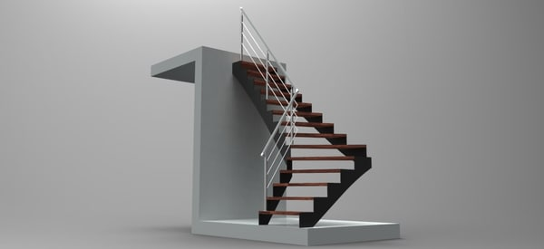 3ds max stairs solidworks
