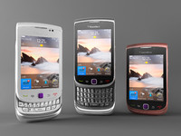 blackberry torch 9800 3d max