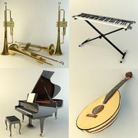 max music instruments