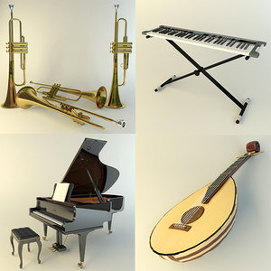 max music instruments