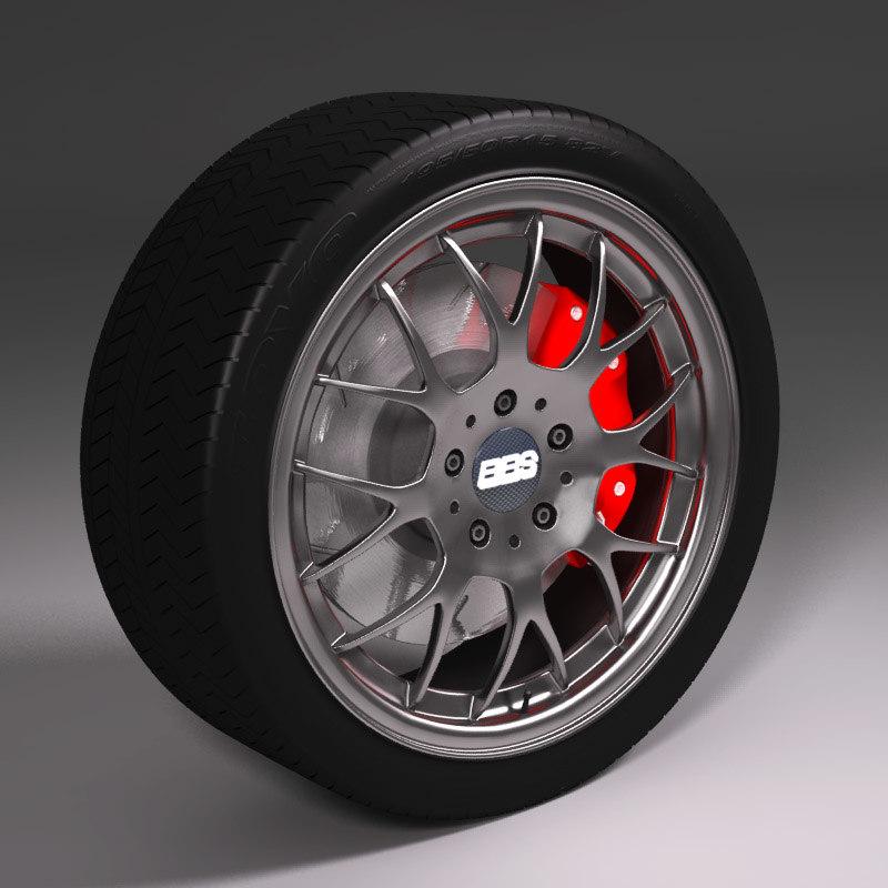 3d wheel bbs