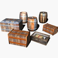 barrels chests and crates