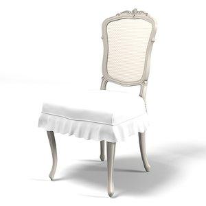chair rachel ashwell 3d max