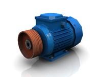 electric motor 3d model
