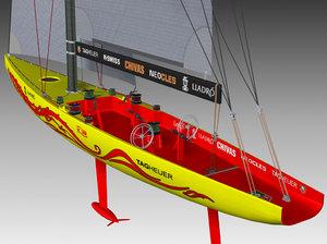 3dsmax competition sailing yacht china