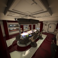 Spaceship Interior HD 2
