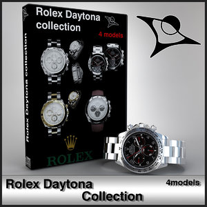 rolex daytona 3d max