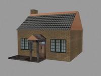 3d fbx small house