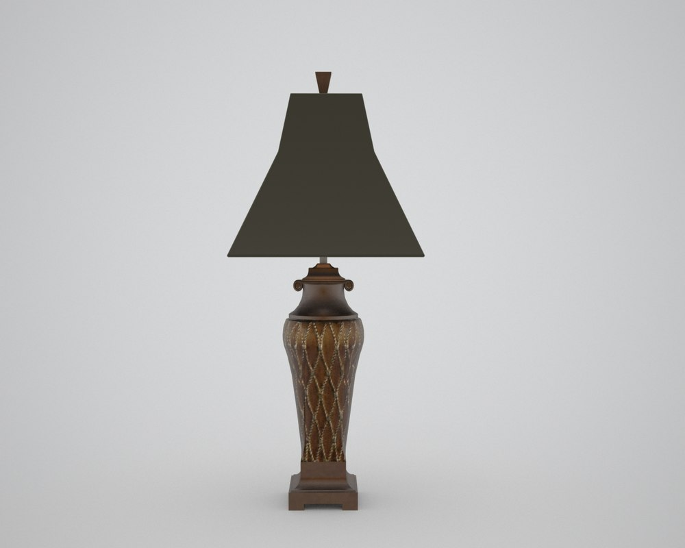 dxf table lamp