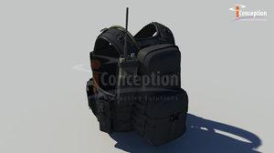 3d military vest