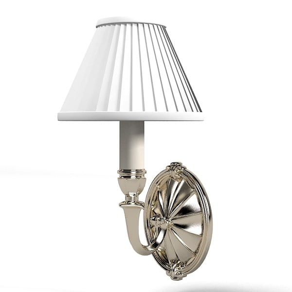 3d model wall lamp classic