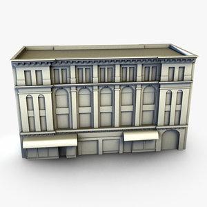 old office building obj