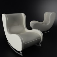 3d realistic armchair arte-m model