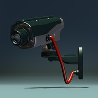3dsmax security camera