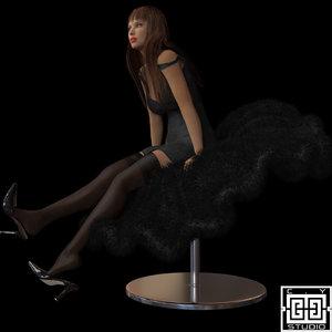 chair 2009 obj