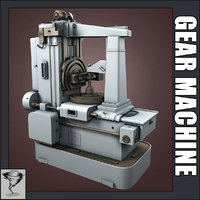 3d max gear making machine -