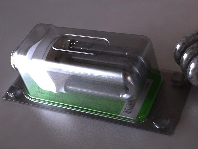3d model light bulb cfl