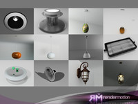 3ds max lamps d3 lighted