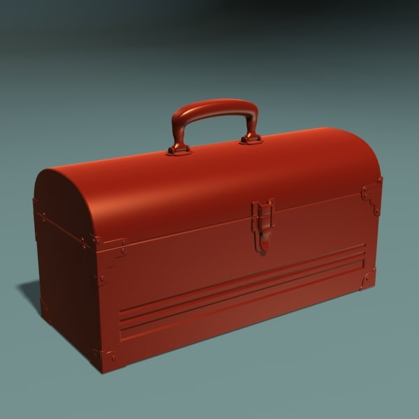 lunch box 3d max