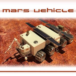 3d model exploration vehicle