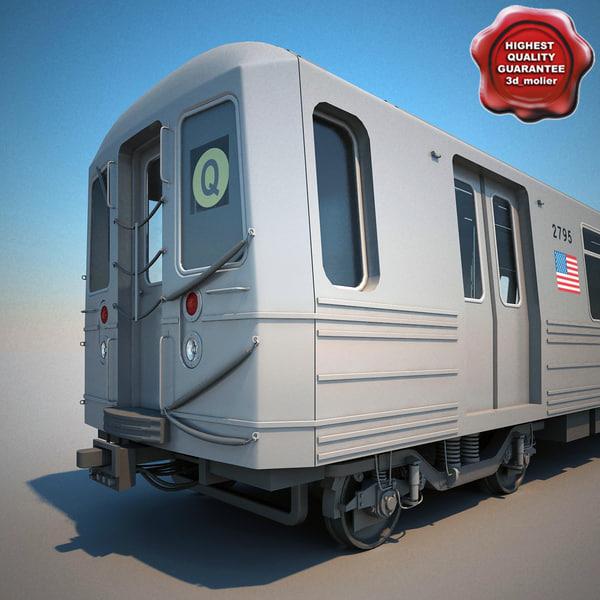 max new york subway train