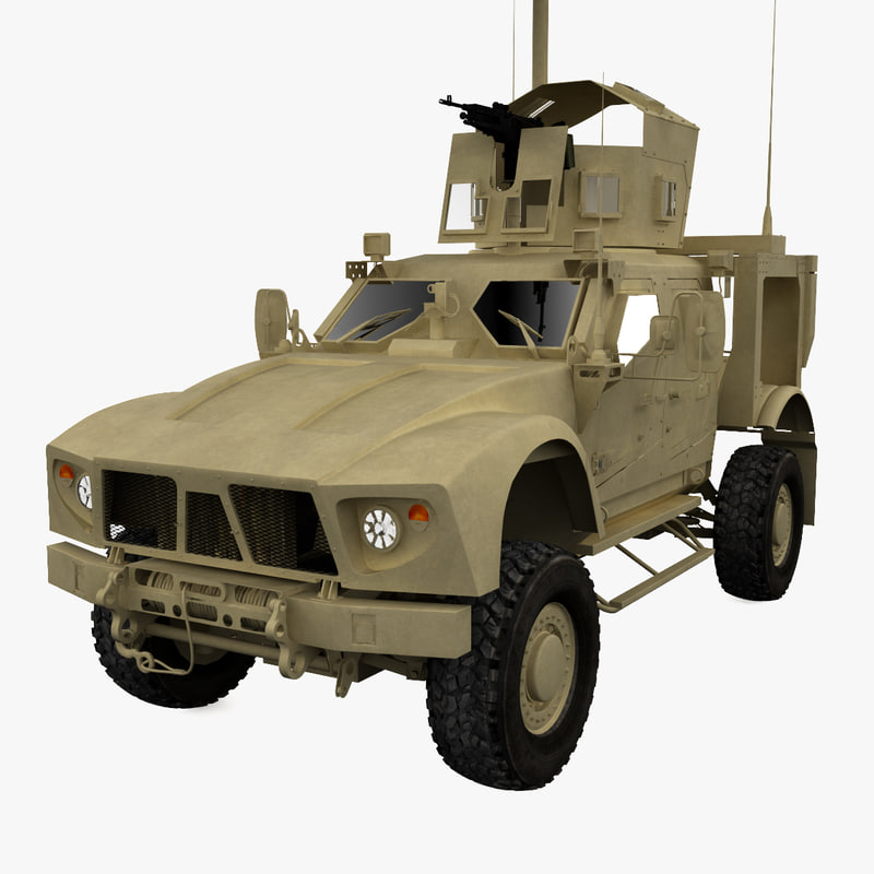 oshkosh m-atv 3d model
