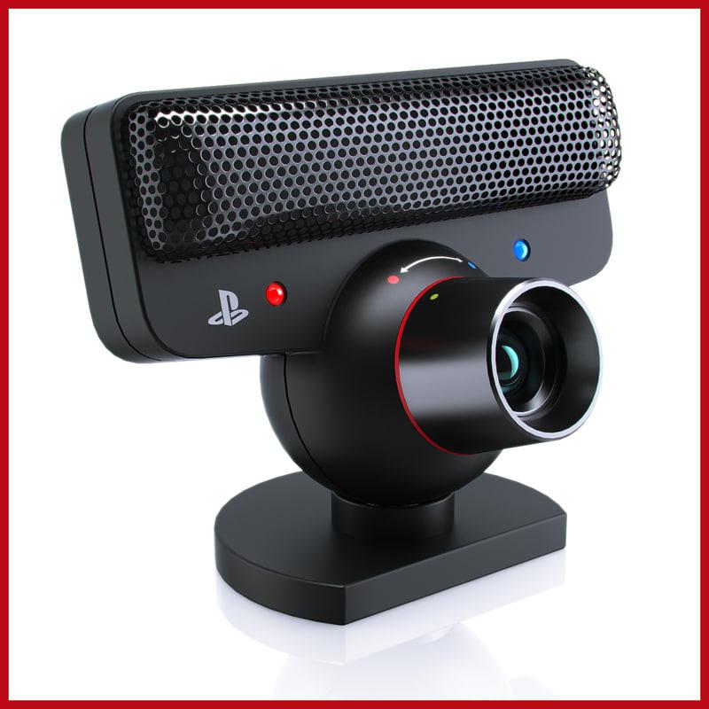 sony cameras 3d model