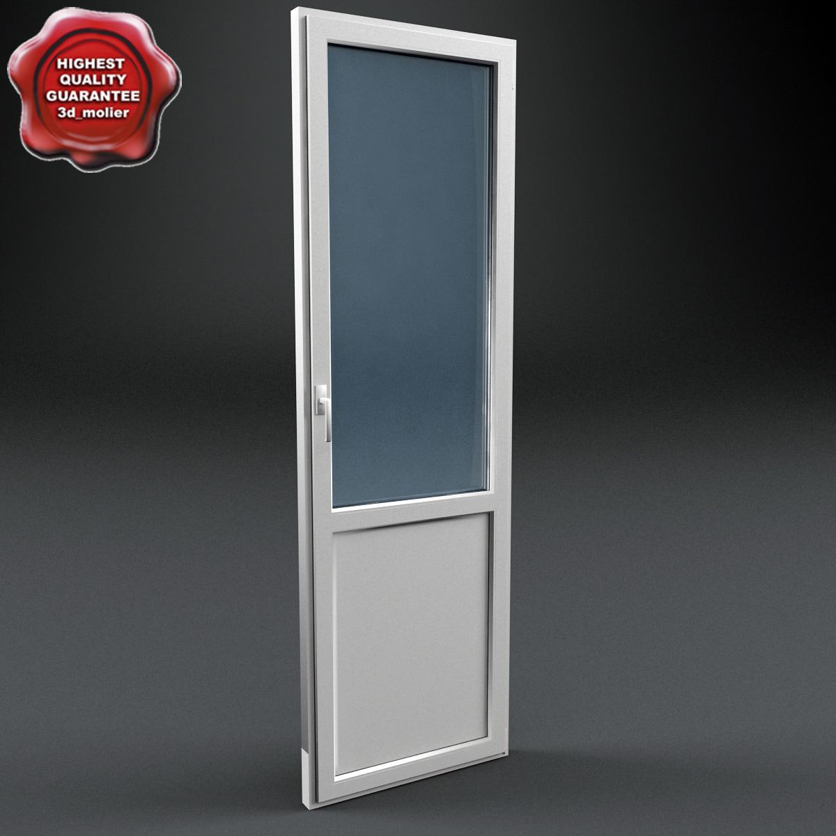 plastic door 3d max