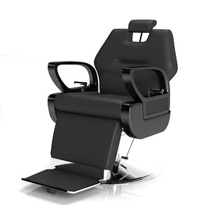 3d fbx president barber chair