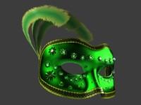 Venetian Carnival Mask 06