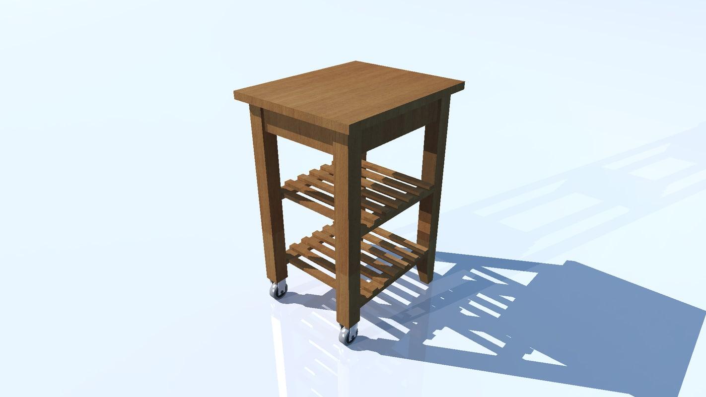 3d sideboard bekvam