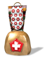 3d model swiss cowbell