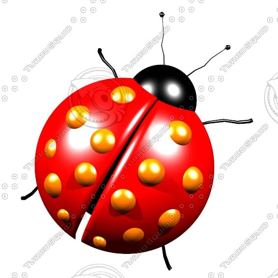 3ds ladybug bug